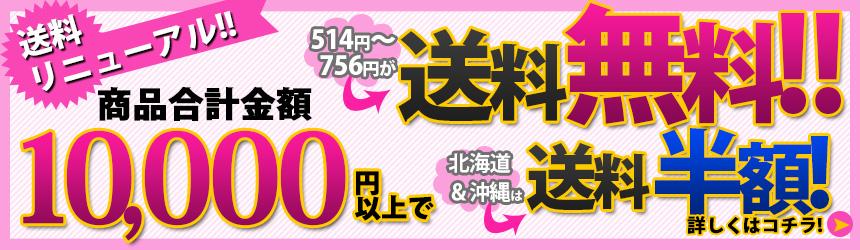4月1日より送料変更!1万円以上で送料無料!